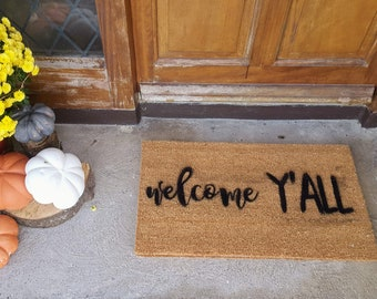 Door mat - Personalised/ Family name/House name/ Funny quote