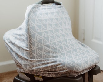 Carseat Cover | Nursing Cover | Stretchy Multi-Use Infant Cover