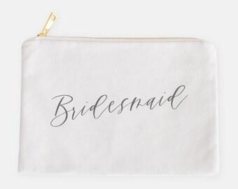 Bridesmaid Cosmetic Bag | Bridesmaid Gift | Bridesmaids Bag