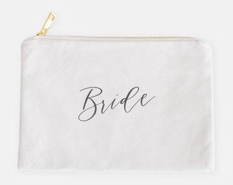 Bride Cosmetic Bag | Bridal Gift | Wedding Accessories