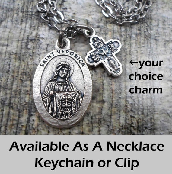 Joseph of Cupertino Necklace Patron Saint Keychain or Clip St Confirmation Gift Handcrafted with lOve! Catholic Jewelry
