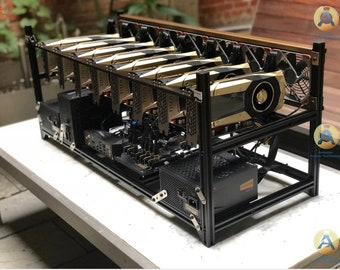 3060 6 GPU Eth Mining rig 50 MH/s to 600 MH/s