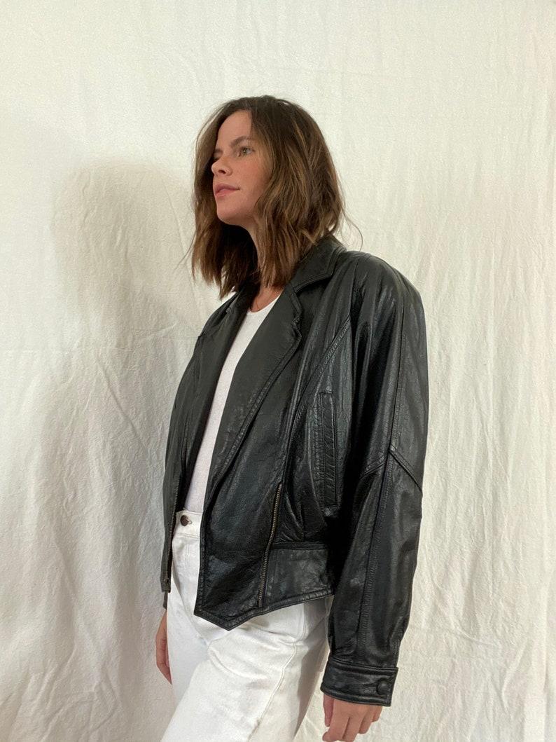 Vintage 80s Leather Jacket