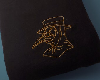 Plague Doctor  Unisex Embroidered T-shirt