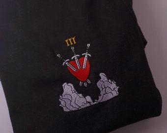 Three of Swords (III) Tarot Card T-shirt