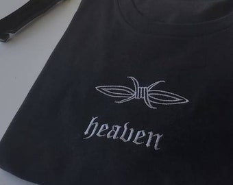 Barbwire Tattoo Embroidered Unisex T-shirt