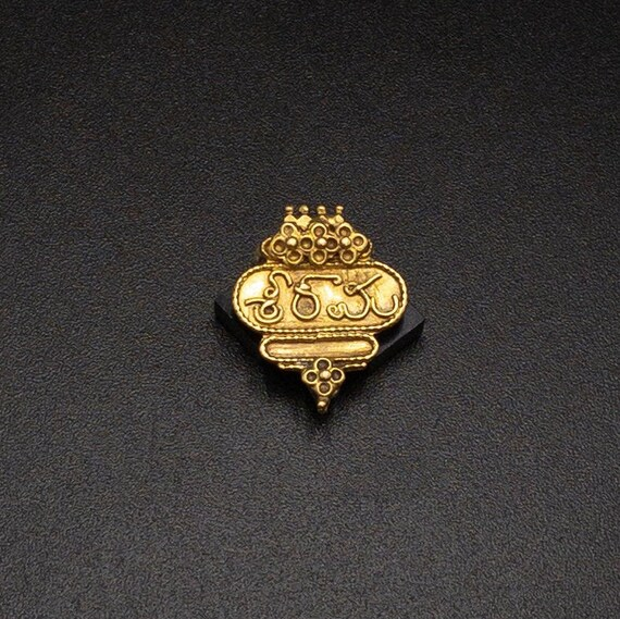 Gold Pendant Antique vintage ethnic indian jewelry
