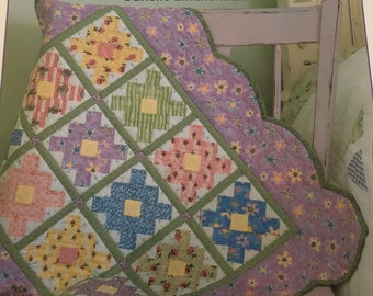 A Sequel By Nancy J Milligan Paperback Quilt Pattern Booklet 1996 P.S Smith /& Lynda S I Love You Two