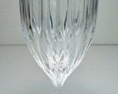 Collectible Vintage MIKASA PARK LANE Blown Cut Glass 7 3 8 quot Iced Tea Goblet - Estate Item