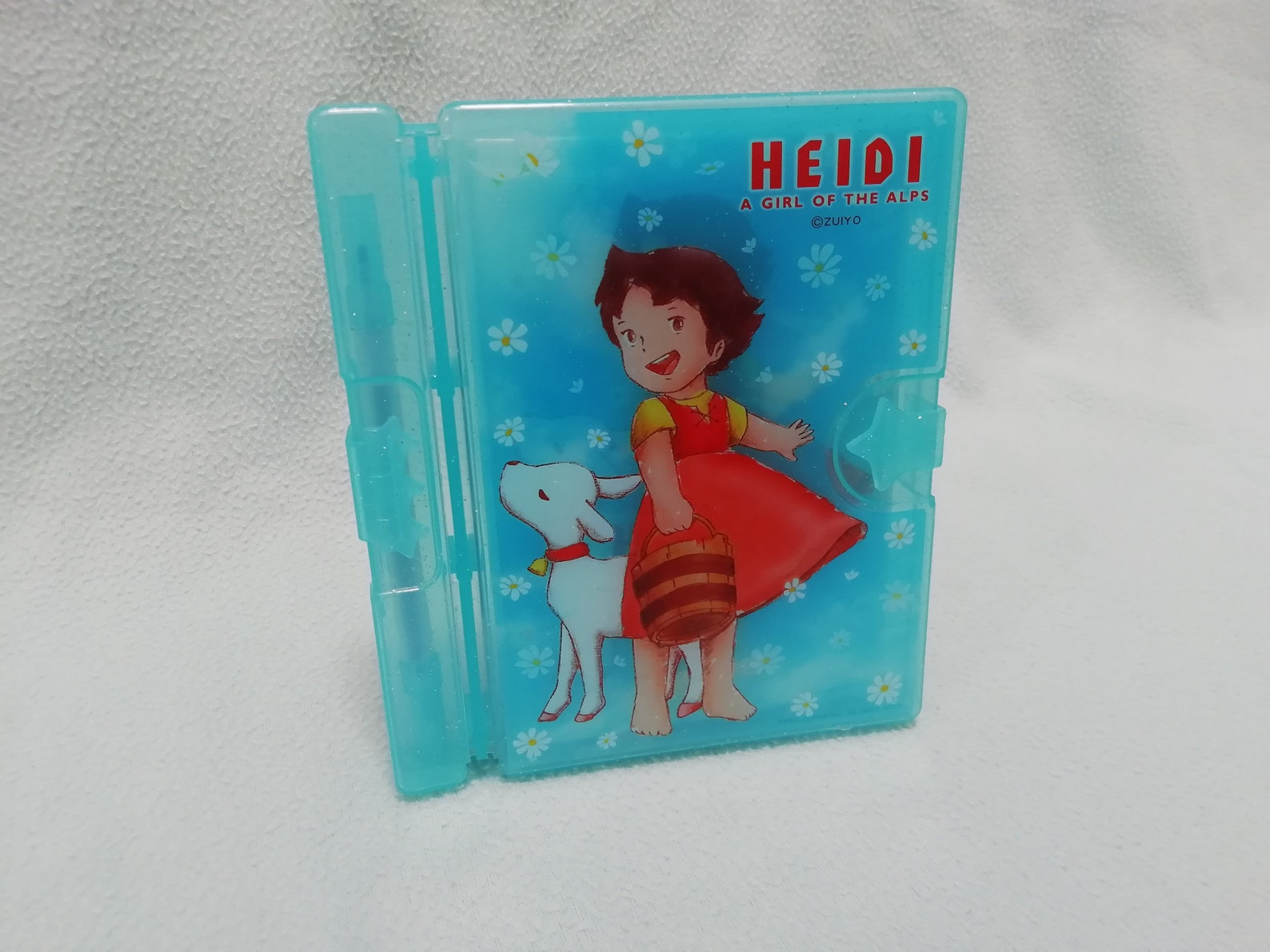 RARE Vintage Heidi A Girl of the Alps Letter Envelope Pencil Case Folder Set / Made in Japan / 1974