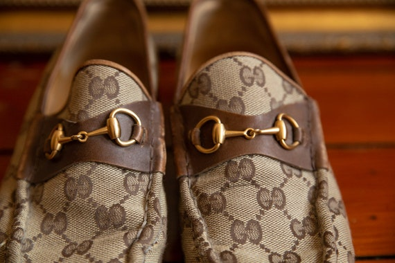 Gucci Cloth Loafers Vintage 70's - image 2