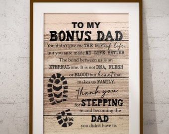 Step Dad Gift Etsy