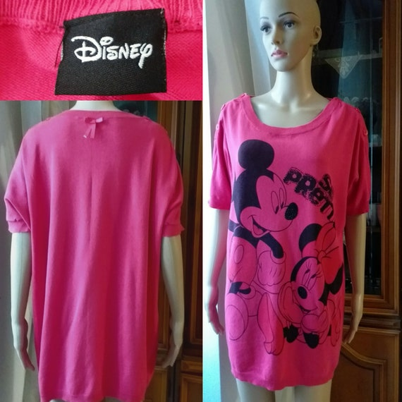 DISNEY Night shirt Size:XL/ Night Gown women/Boyfr