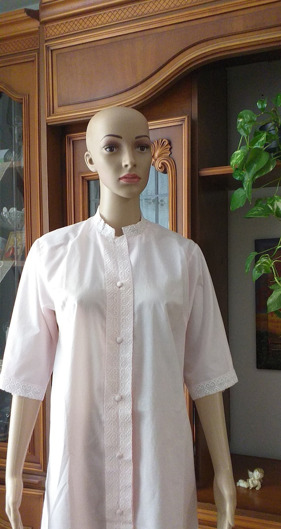 Vintage cotton night dress women/ Home dress women