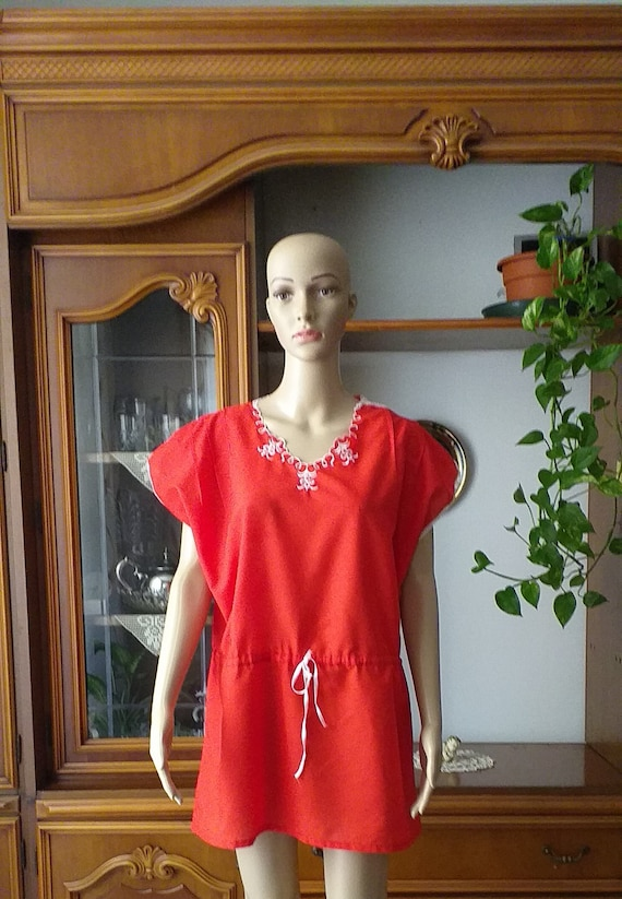 Vintage Night shirt/Women nightgowns /Housewife dr