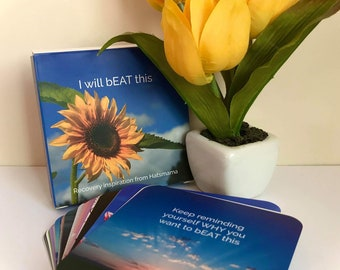 Inspirational Cards for Anorexia / Eating Disorder Recovery. Shipped Worldwide.