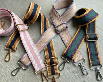 Adjustable Strap, Crossbody Strap, Bag Strap, Purse Strap, Cotton Strap, Crossbody Bag Strap, Patterned Strap, Kids Bag Strap