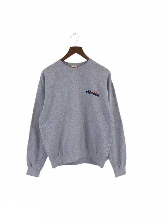 Vintage Ellesse small logo spell out sweatshirt ju