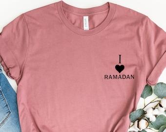 Custom Name Ramadan Mubarak Unisex T-Shirt Ramadan Kareem Shirt, Muslim Gift Tee for Ramadan 2021