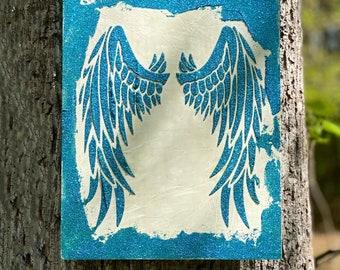 Angel in Teal