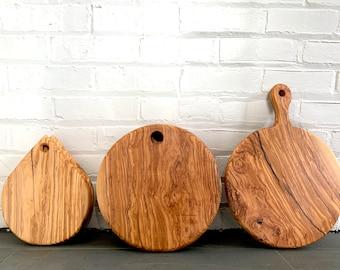 Medium Wooden Cutting Board Handmade Repurposed Wood