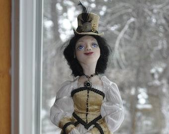 Steampunk Lady OOAK Art Doll