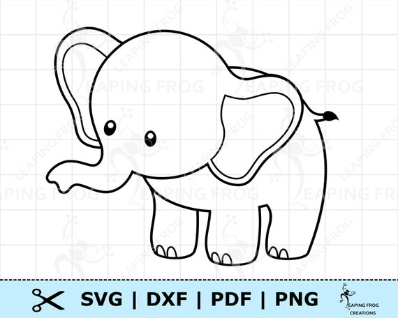 Elephant Png Outline – Elephant png & psd images with full transparency.