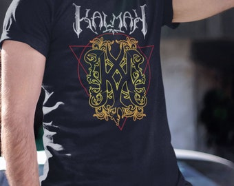 Kalmah Band Album Custom Black T-shirt USA Size Men/'s