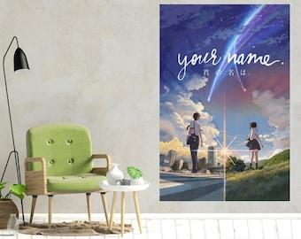 Weathering With You Makoto Shinkai Movie Japanese Art Silk Poster 12x18 24x36