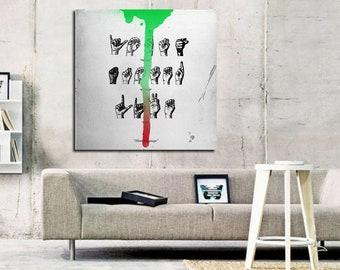 YUNG BANS Custom Poster Print Art Wall Decor 19x12 Inch