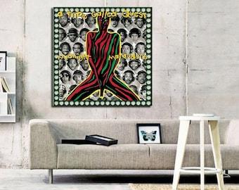 A Tribe Called Quest Midnight Marauders Art Silk Poster Prints 12x12 24x24 inch