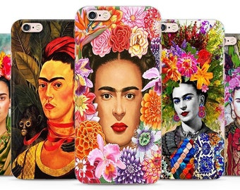 Feminist Frida Portrait art colorful bohemian phone case cover for iPhone 12 11 XS 11 pro Max 7 8 X Galaxy Samsung A20 A30 S8 S9  HUAWEI P30