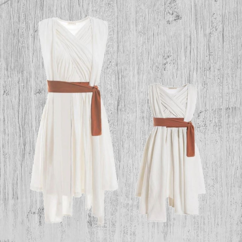 REY Girl/'s Birthday Outfit REY Kids Girl Party Costume Dress REY Birthday Party Dress Outfit