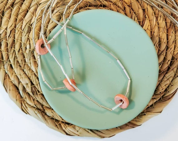 Cute pale pink necklace