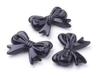 charm CROIX strass noires ou translucides breloque avec mousqueton V406 V435