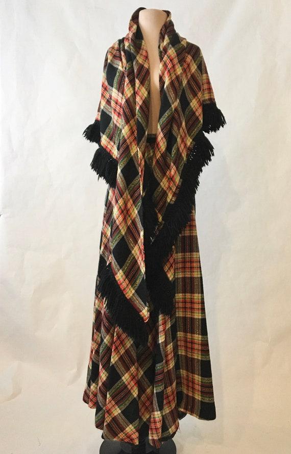 70s Skirt/Scarf Set