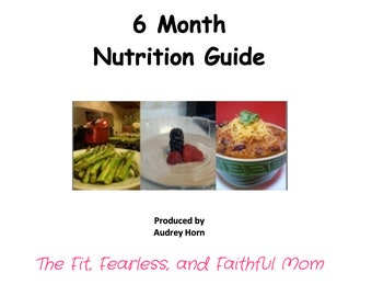 Customized 6month Nutrition Plan