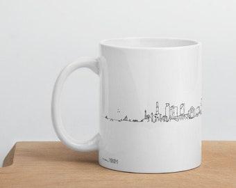 Tel Aviv skyline ( extended ) - Mug