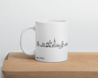 New York skyline - Mug