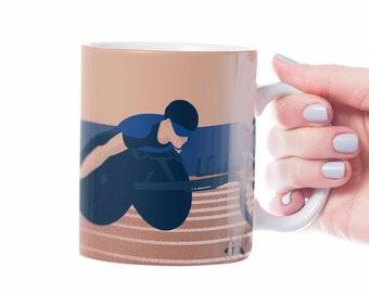 Para athlete mug gift to personalise for para athlete or paralympics fan or coach or para athletics christmas or paralympics birthday gift