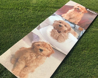 Custom Printed Yoga Mat ! | Great Gift | Personalize | High Quality | ECO Friendly | Your Logo | Dog and Cats | Ships Within 24 Hours