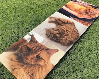 Custom Printed Yoga Mat ! | Great Gift | Personalize | High Quality | ECO Friendly | Your Logo | Dogs and Cats | Ships Within  24 hours