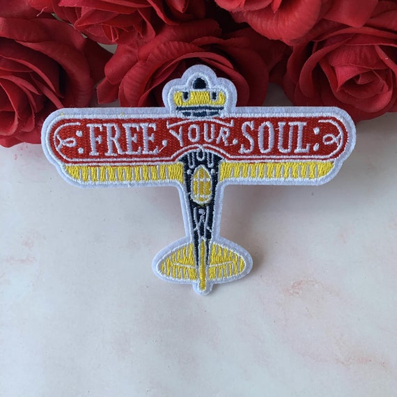 You Are Good For My Soul Lover Hand Patch Embroidered Applique Iron On Sew On Emblem
