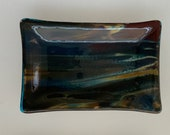 4 x 6 Petrified Wood Fused Glass Dishes