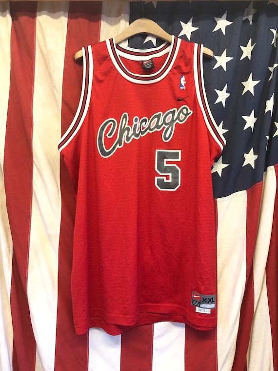 """NBA Vintage jersey 80"""" Chicago Derrick Rose"""
