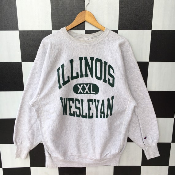 Vintage 90s Champion Illinois Wesleyan University