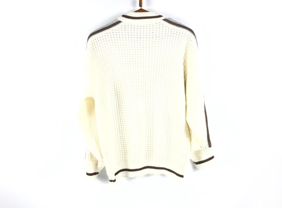 Rare Vintage Sweater Need Clothing Ski France Big… - image 4