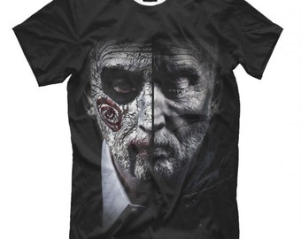 Horror Halloween Tshirt ALL SIZES NEW** Jigsaw Movie Saw T-shirt