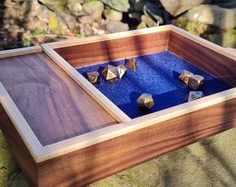 Handmade Wooden Dice Tray