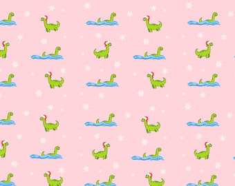 Christmas Loch Ness Gift Wrap